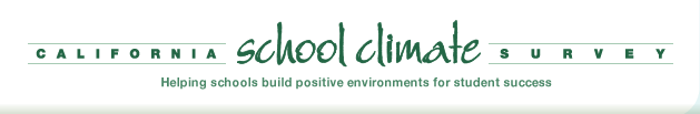 California School Climate Survey -