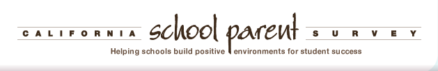 California School Parent Survey -